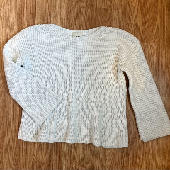 Bell sleeved sweater from Aritzia